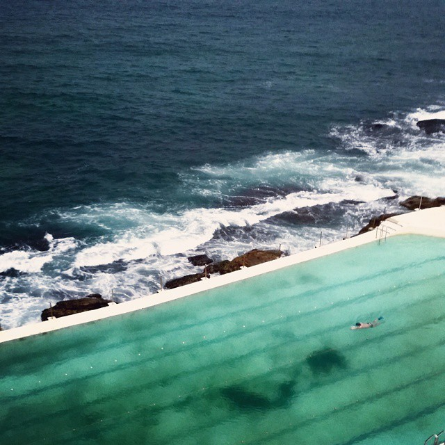View from Bondi Icebergs