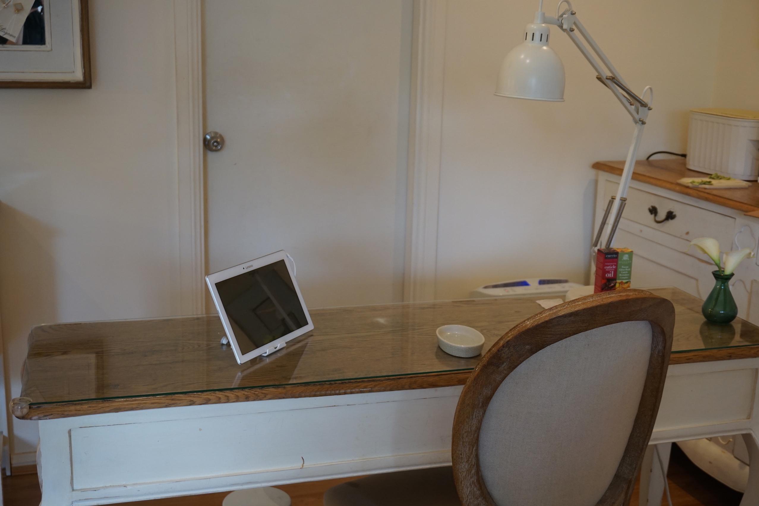 at frame didier desk header home my salon nail lab fashion