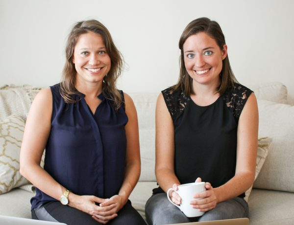 Katie Ghelli (l) and Mary Biggins (r)